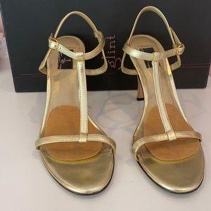 Gold Glint Sandals